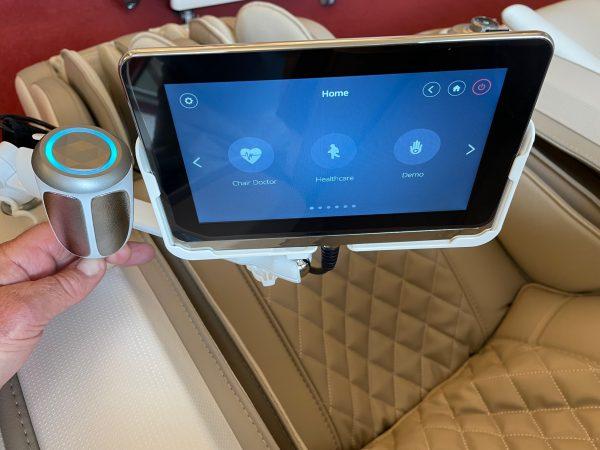 4-D Sensor m skärm